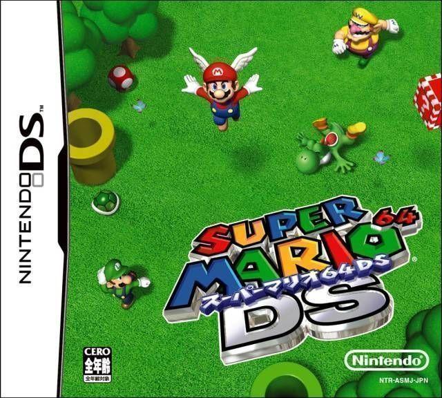 Rom juego Super Mario 64 DS