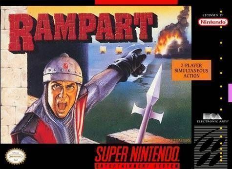 Rom juego Rampart