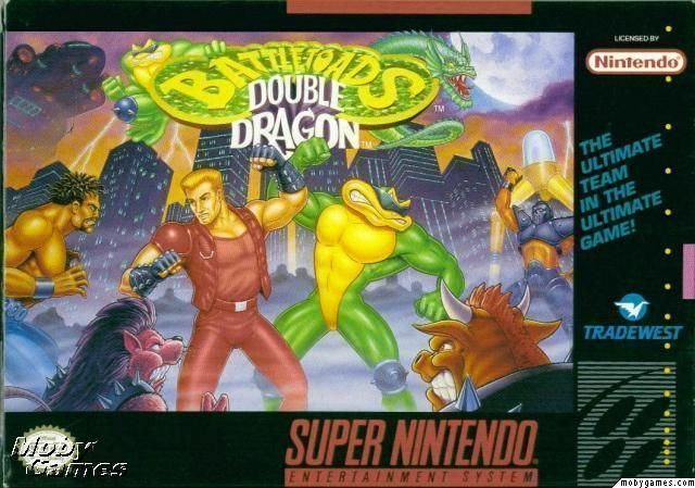 Rom juego Battletoads Double Dragon - The Ultimate Team
