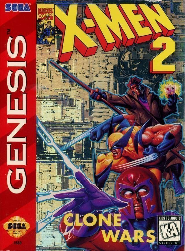 Rom juego X-Men 2 - Clone Wars (JEU)