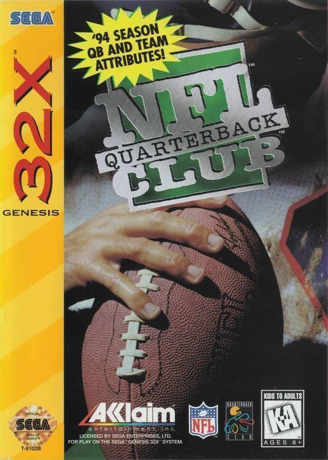 Rom juego NFL Quarterback Club