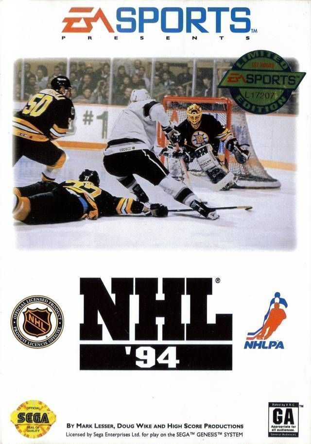 Rom juego NHL Hockey 94