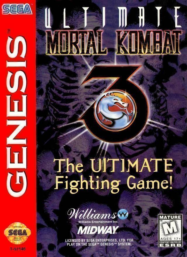 Rom juego Ultimate Mortal Kombat 3
