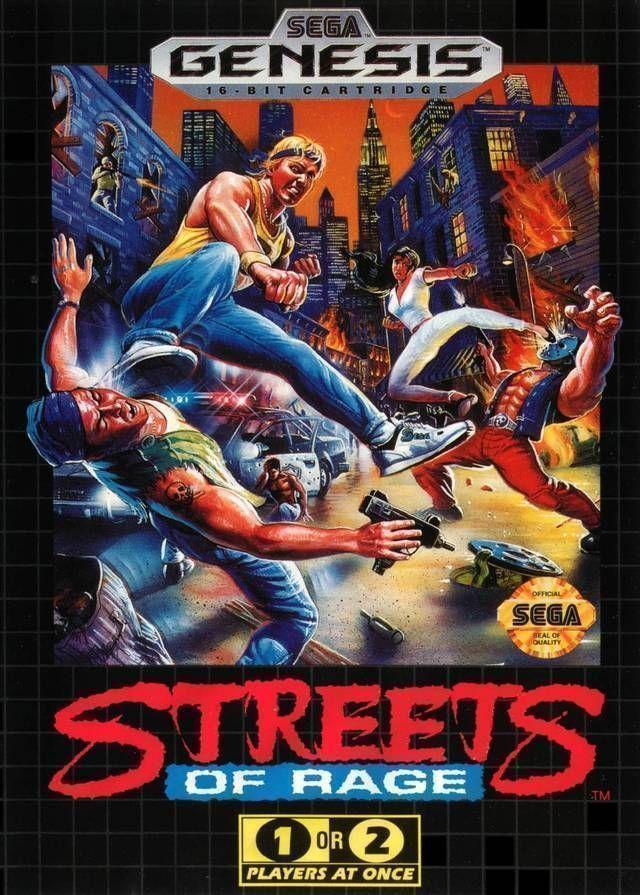 Rom juego Streets Of Rage (JUE) (REV 00)