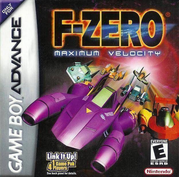 Rom juego F-Zero - Maximum Velocity