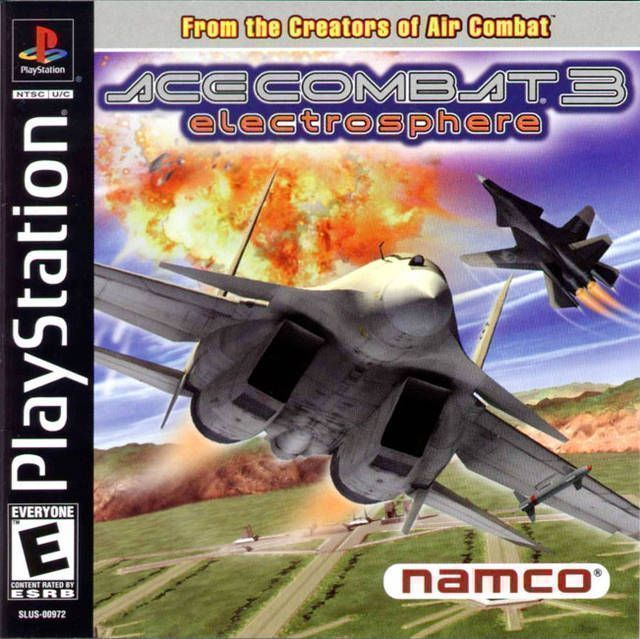 Rom juego Ace Combat 3 - Electrosphere