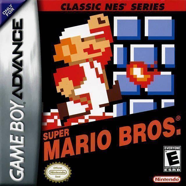 Rom juego Classic NES - Super Mario Bros.