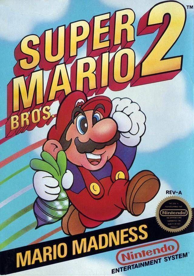 Rom juego Super Mario Bros 2