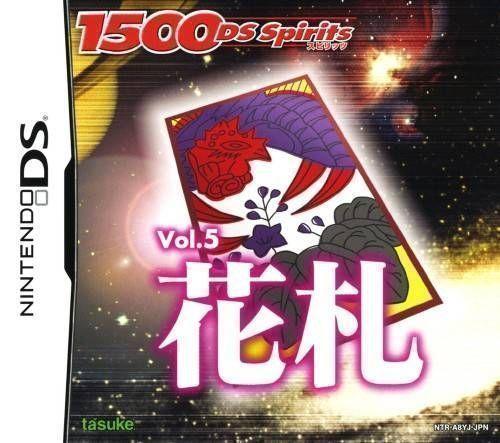 Rom juego 1500 DS Spirits Vol.5 Hanafuda