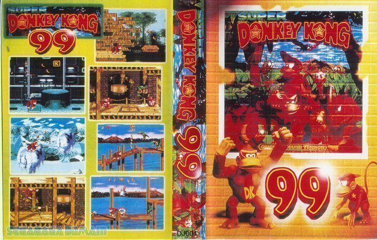 Rom juego Super Donkey Kong 99 (Unl)