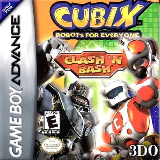 Rom juego Cubix - Robots For Everyone - Clash 'n Bash