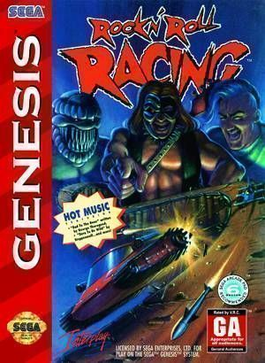 Rom juego Rock N' Roll Racing
