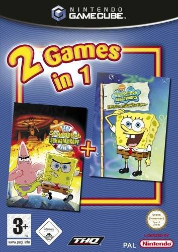 Rom juego 2 Games In 1 Nickelodeon SpongeBob Schwammkopf Der Film Nickelodeon SpongeBob Schwammkopf Schlacht Um Bikini Bottom  - Disc #1