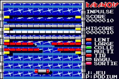 Rom juego Kakanoid_Gameboy_Advance
