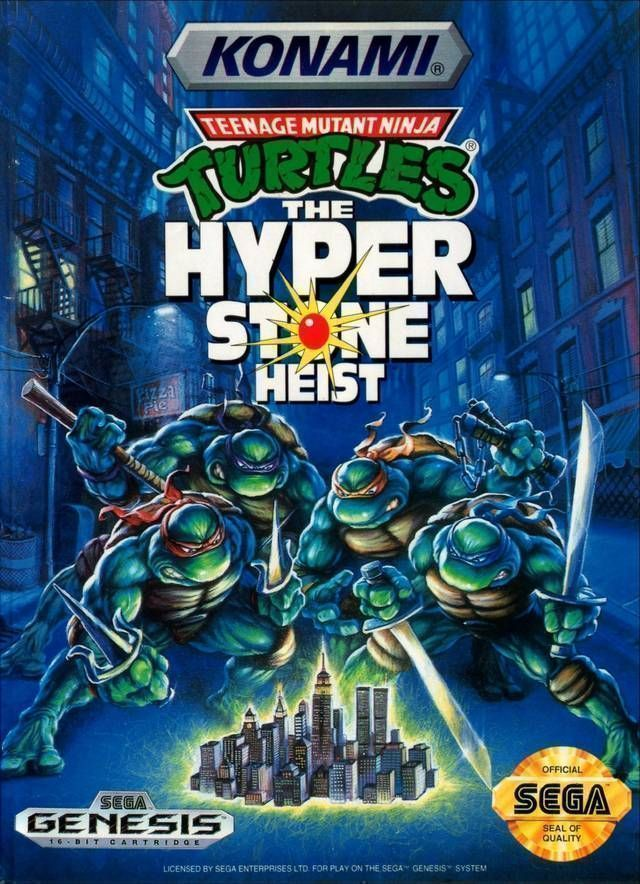 Rom juego Teenage Mutant Ninja Turtles - The Hyperstone Heist