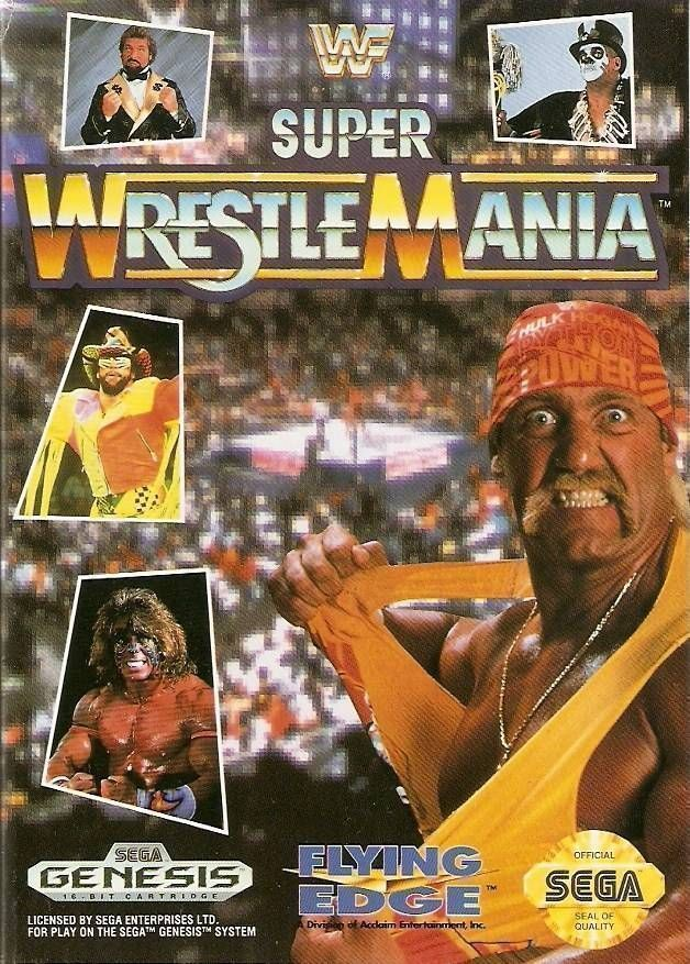 Rom juego WWF Super Wrestlemania (JUE)