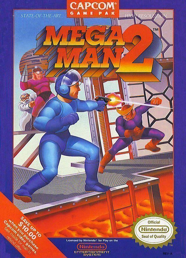 Rom juego Mega Man 2