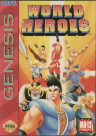 Rom juego World Heroes