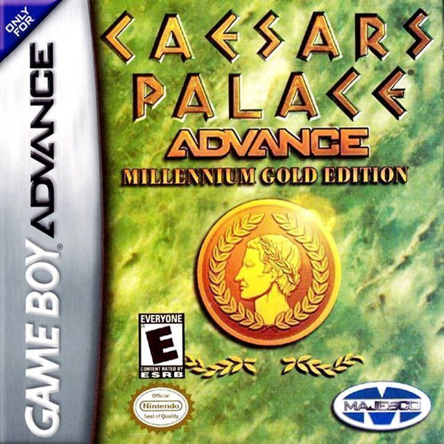 Rom juego Caesar's Palace Advance - Millennium Gold Edition