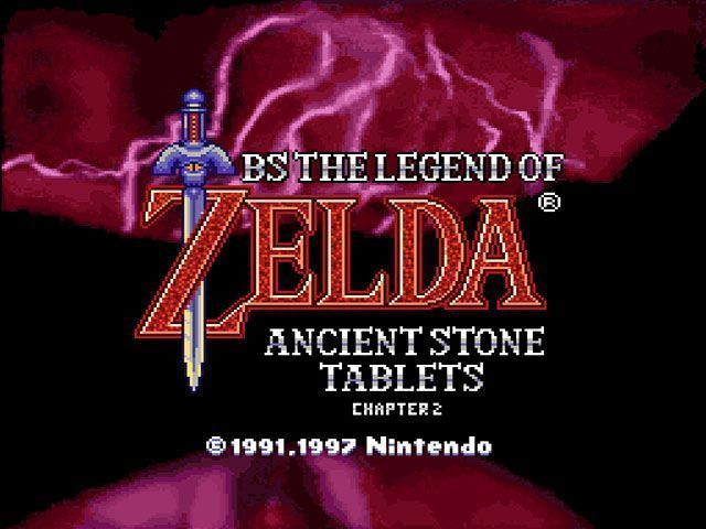 Rom juego BS Legend Of Zelda 4 - Kodai No Sekiban