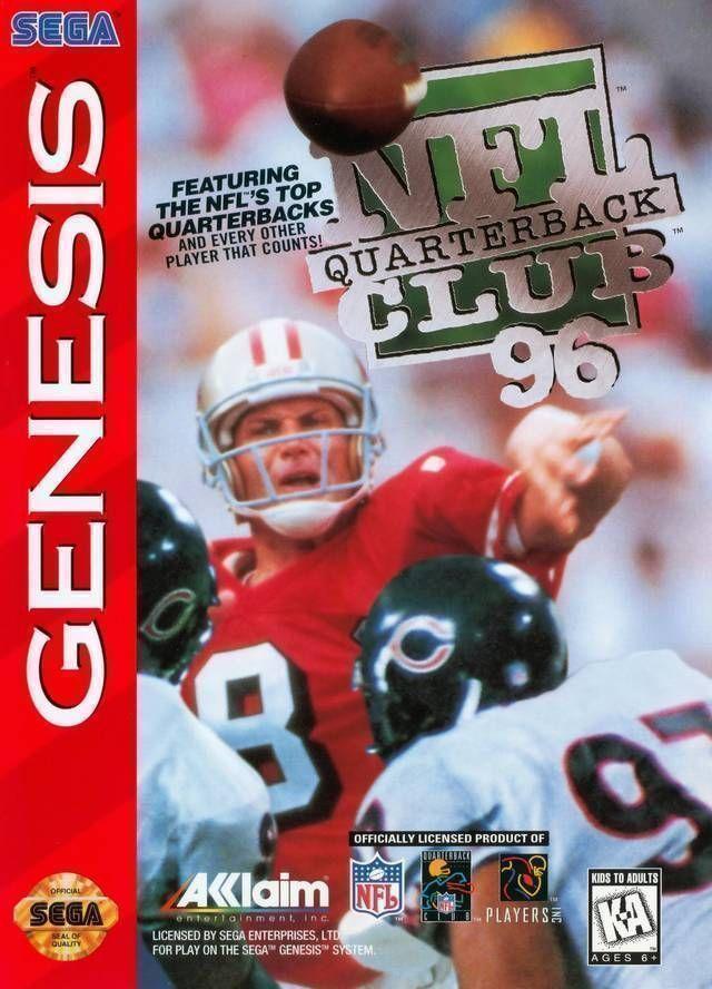 Rom juego NFL Quarterback Club 96