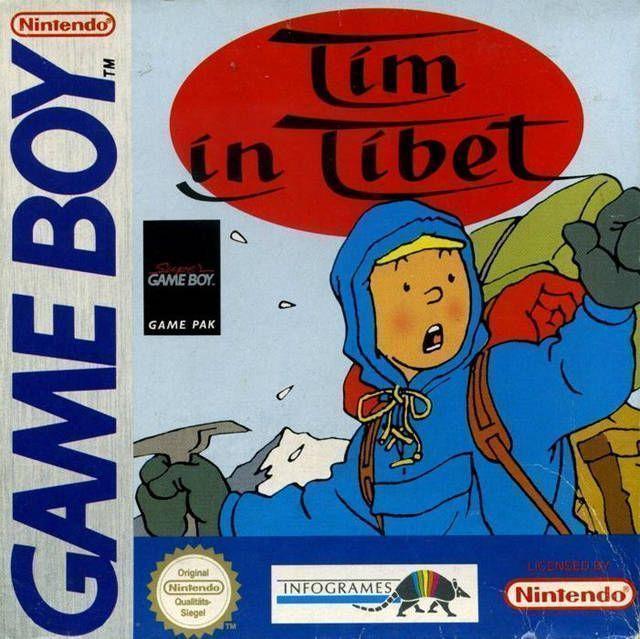 Rom juego Tintin In Tibet