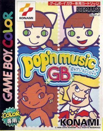 Rom juego Pop'n Music GB