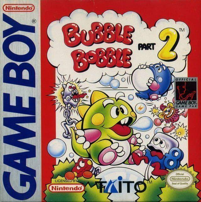 Rom juego Bubble Bobble Jr.