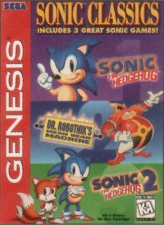 Rom juego Sonic Compilation (A) (REV 00)