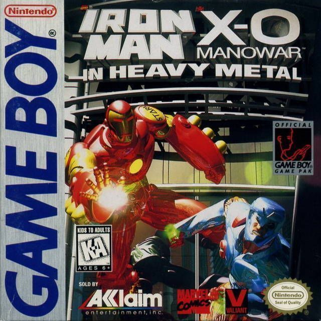 Rom juego Ironman - X-O Manowar In Heavy Metal
