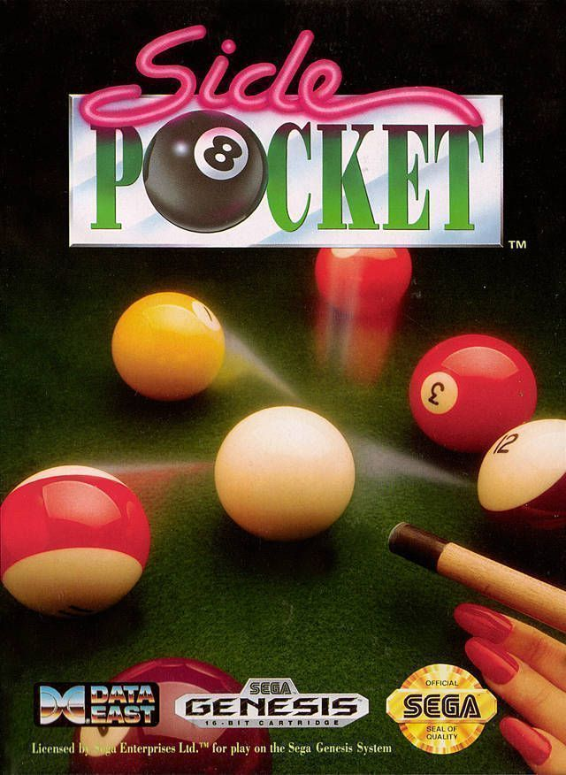 Rom juego Side Pocket