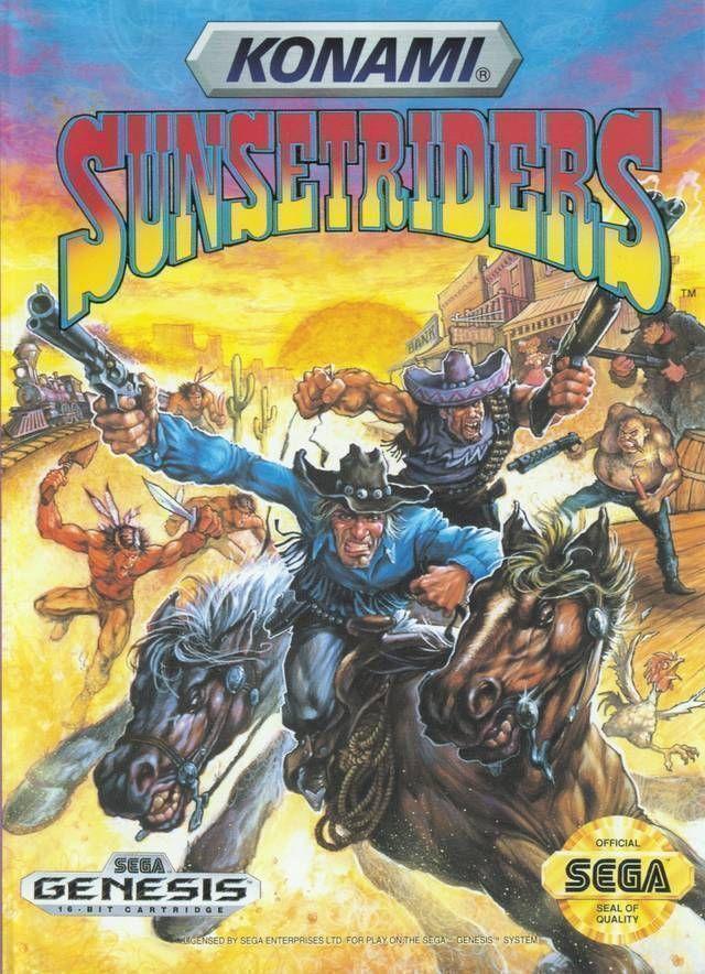 Rom juego Sunset Riders