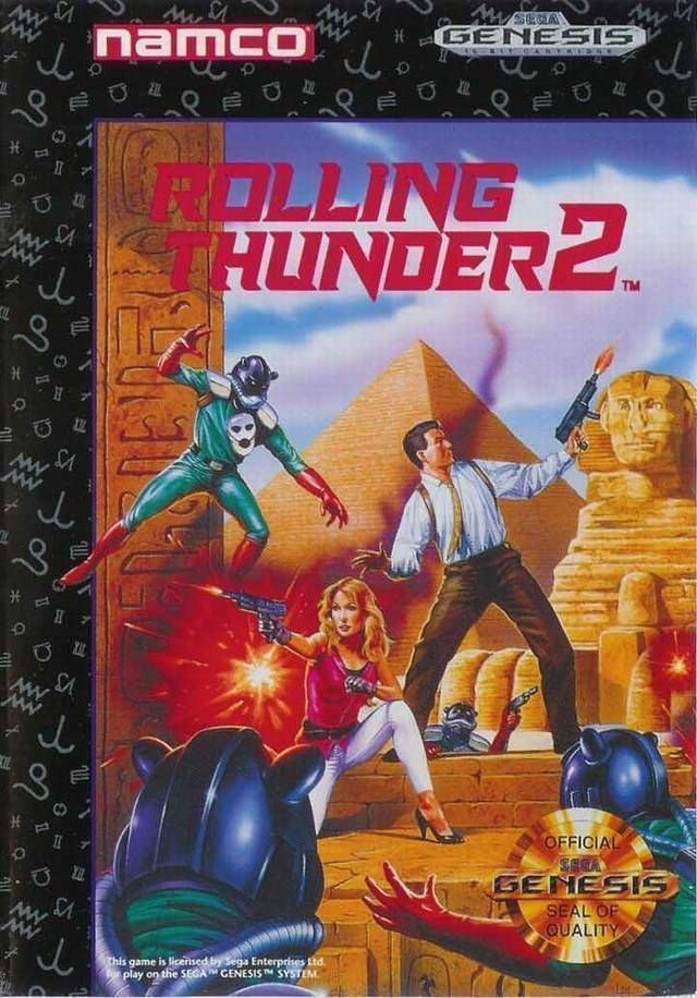Rom juego Rolling Thunder 2 [c]