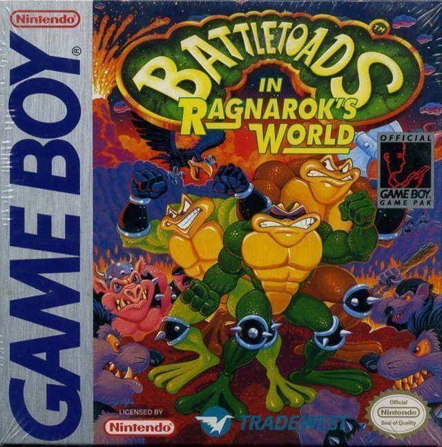 Rom juego Battletoads In Ragnarok's World