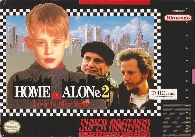 Rom juego Home Alone 2 - Lost In New York