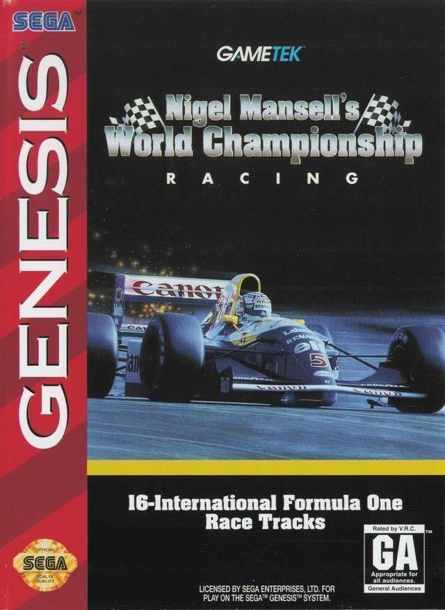 Rom juego Nigel Mansell's World Championship