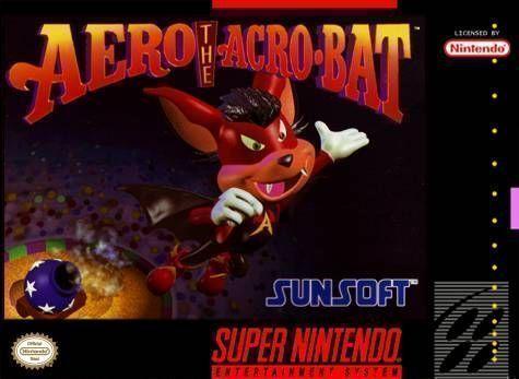 Rom juego Aero The Acro-Bat