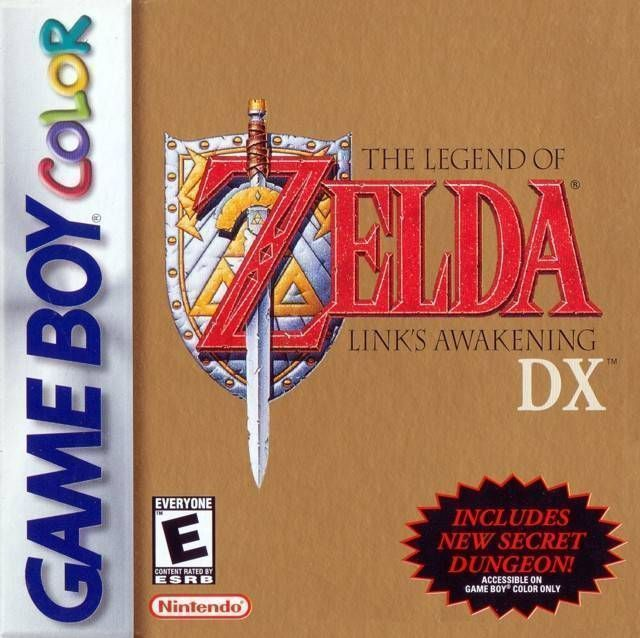 Rom juego The Legend Of Zelda - Link's Awakening DX