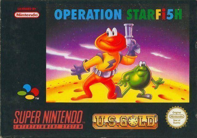 Rom juego James Pond 3 - Operation Starfish