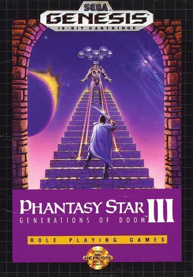 Rom juego Phantasy Star III - Generations Of Doom