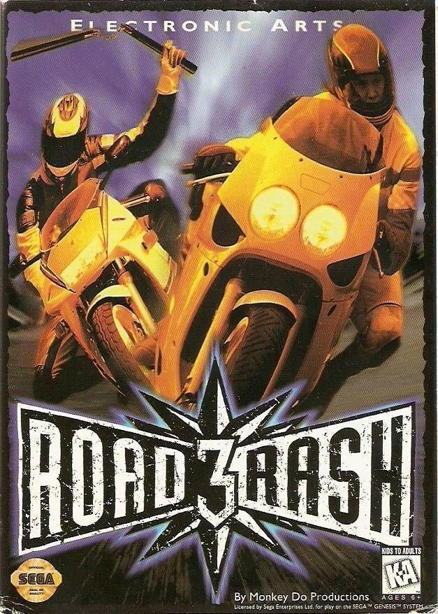 Rom juego Road Rash 3 (UEJ)