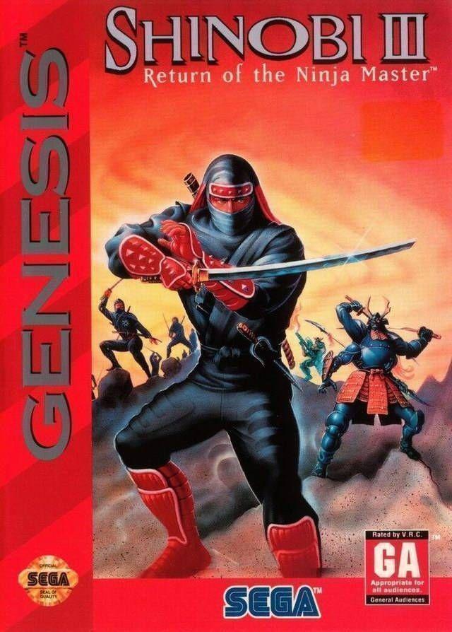 Rom juego Shinobi 3 - Return Of The Ninja Master