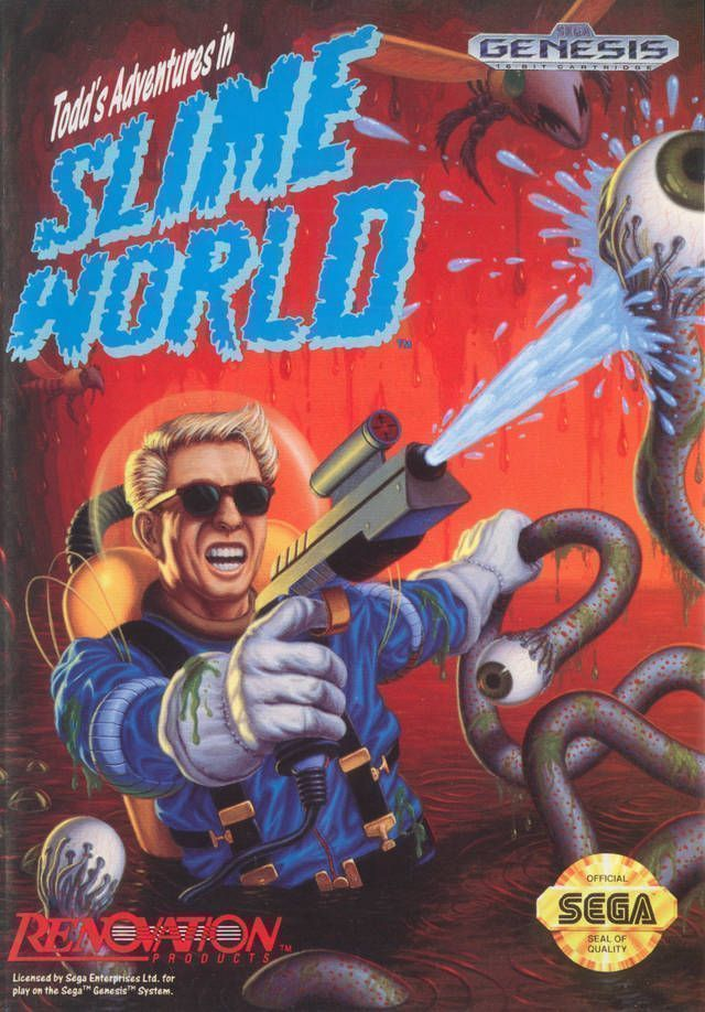 Rom juego Todd's Adventures In Slime World