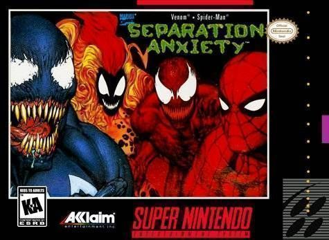 Rom juego Spider-Man & Venom - Separation Anxiety