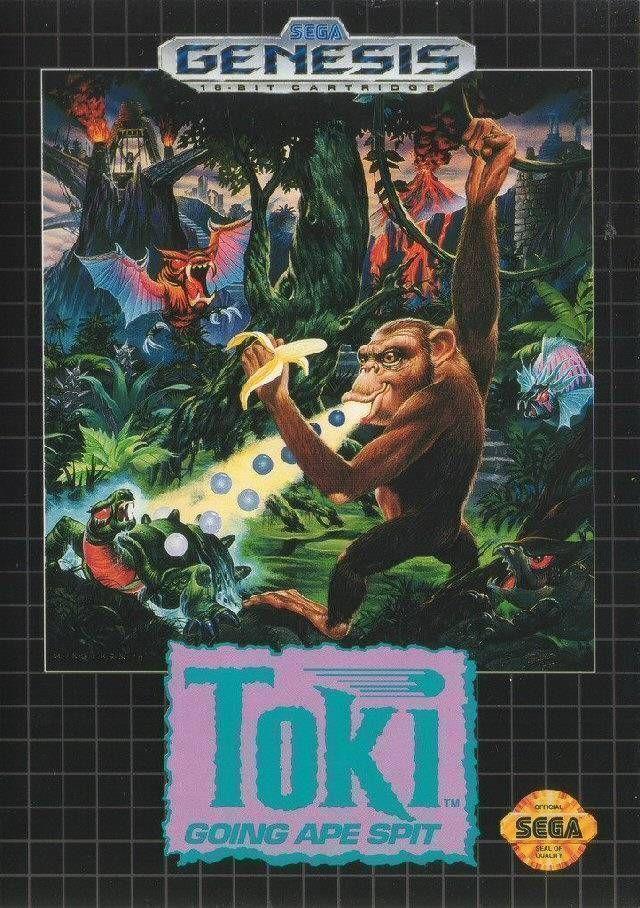 Rom juego Toki - Going Ape Spit