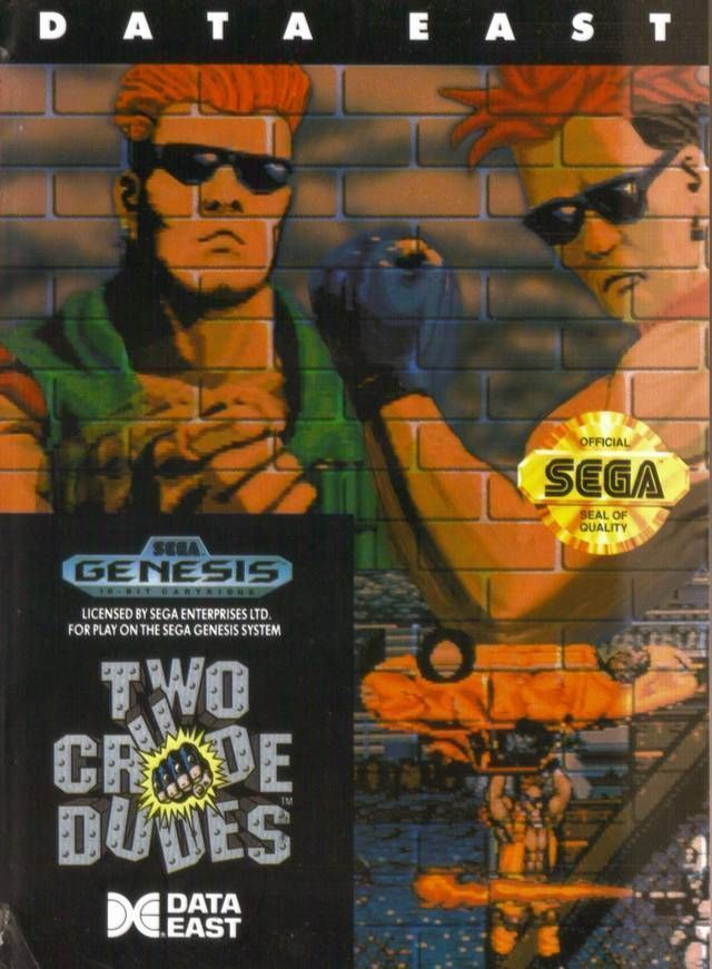 Rom juego Two Crude Dudes (T-13026) [R-USA]