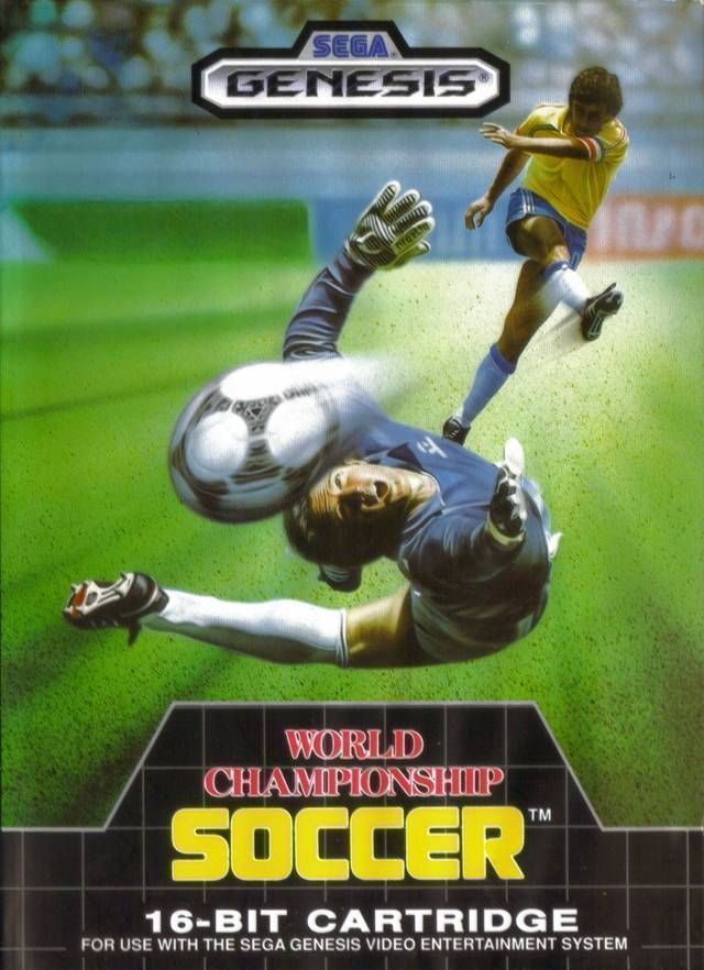 Rom juego World Cup Soccer (JU)