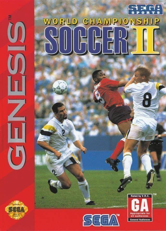 Rom juego World Championship Soccer 2