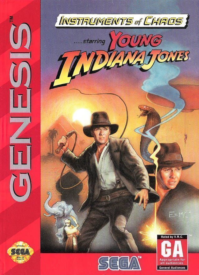 Rom juego Young Indiana Jones - Instrument Of Chaos