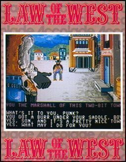Rom juego Law Of The West
